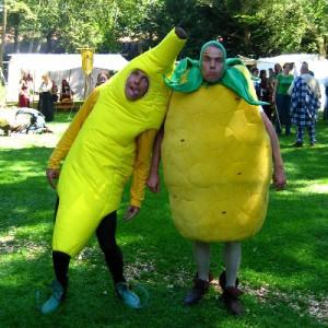 Banaan en ananas